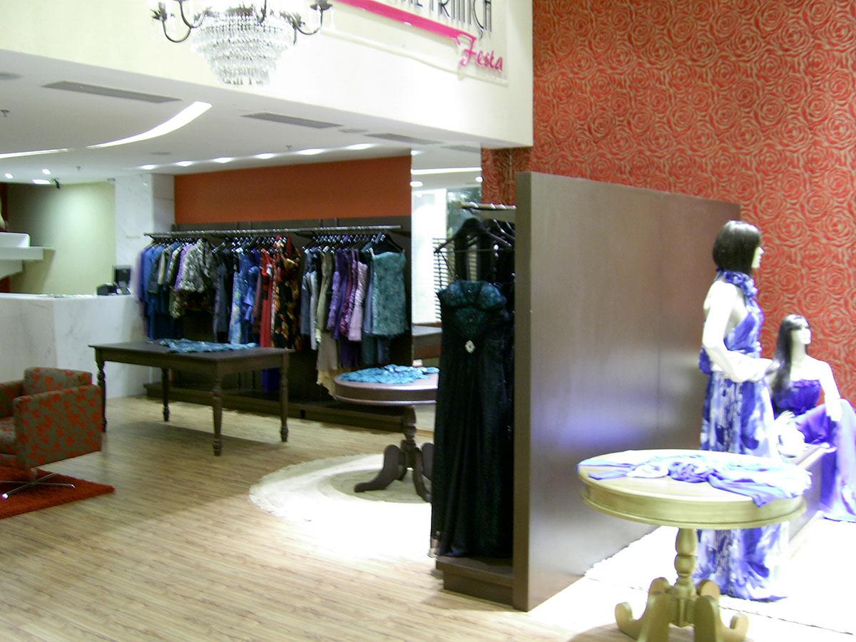 Marcenaria Loja Carolina França Festa – Shopping Paralela