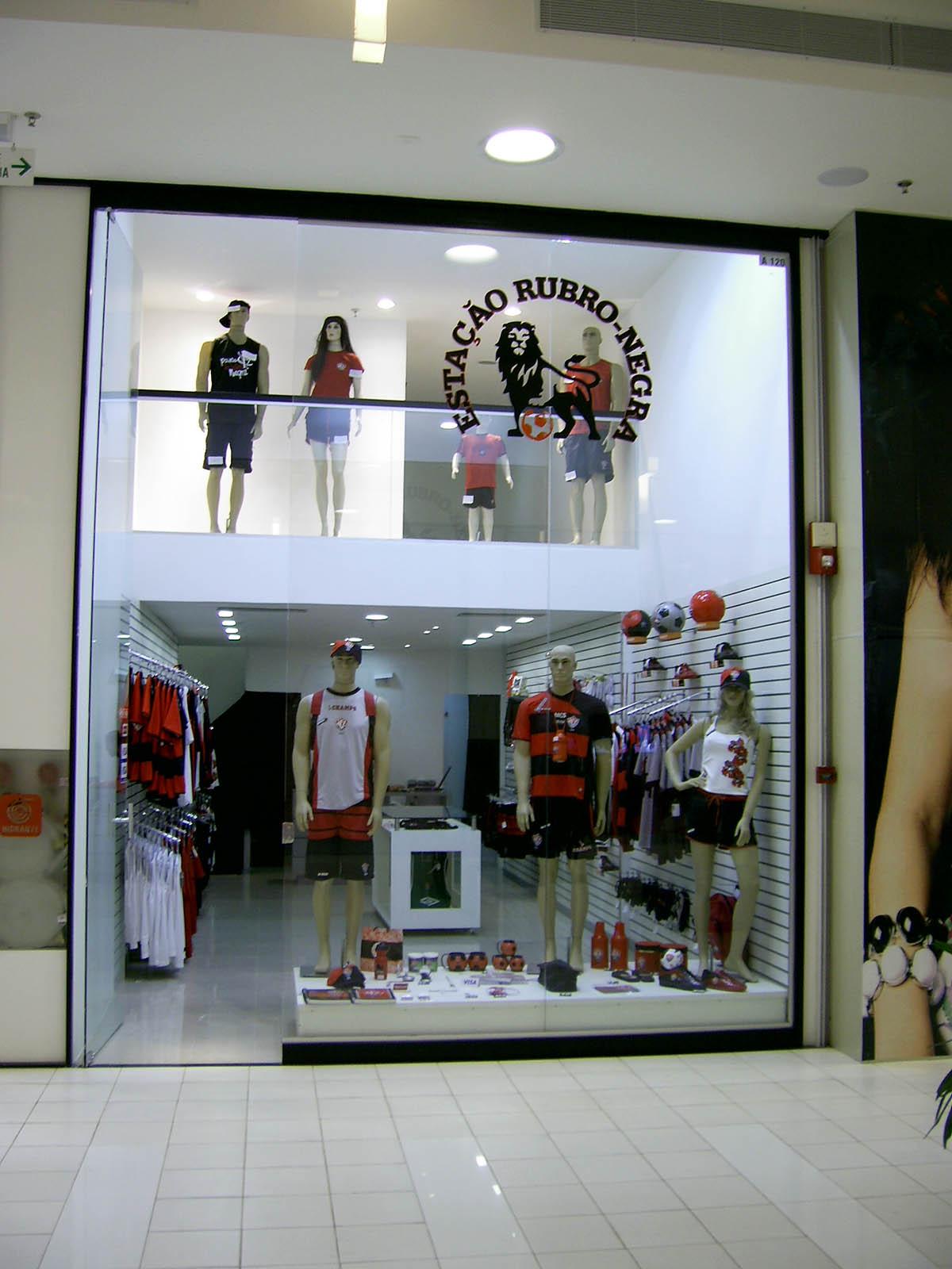 Marcenaria Loja Estação Rubro – Shopping Paralela